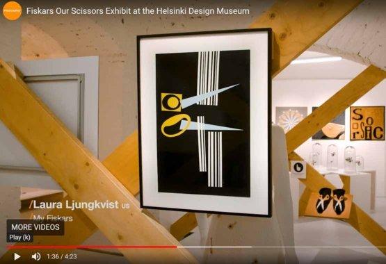Makaslarımız Helsinki Tasarım Müzesi'nde sergileniyor VIDEO